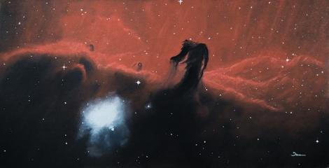 horseheadNebula_oiloncanvasboard_small